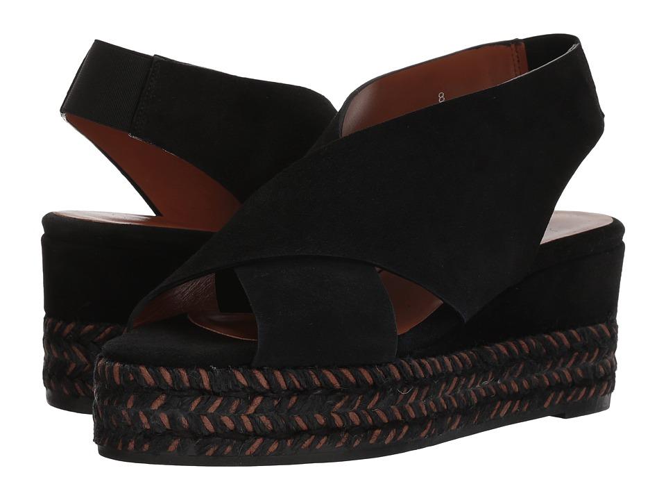 Aquatalia - Jaida (Black Suede) Womens Shoes