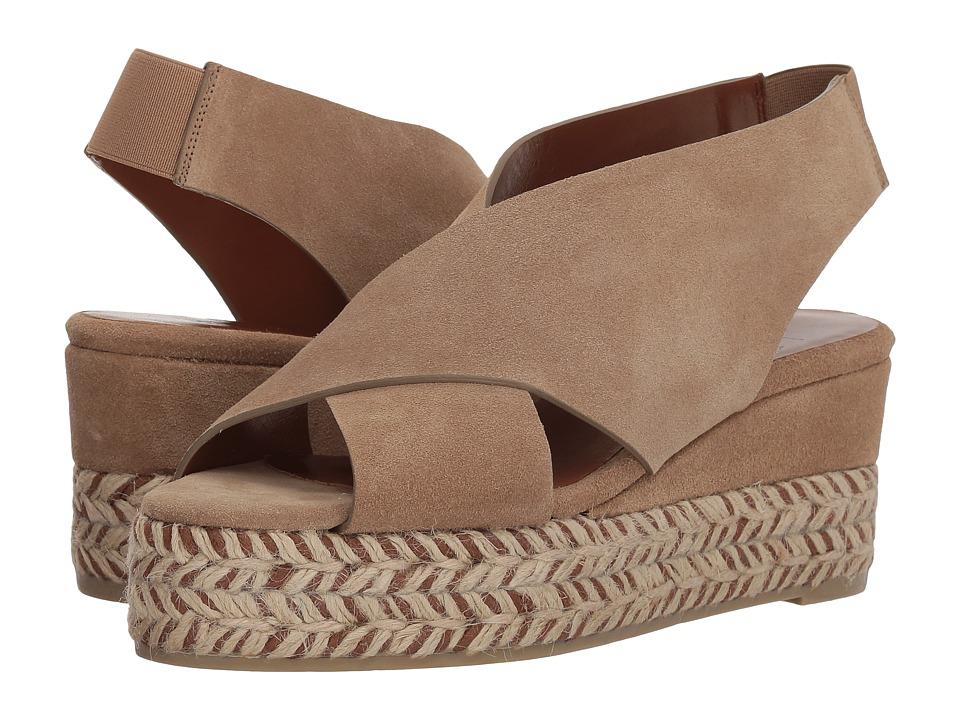 Aquatalia Jaida (Sand Suede) Women's Shoes