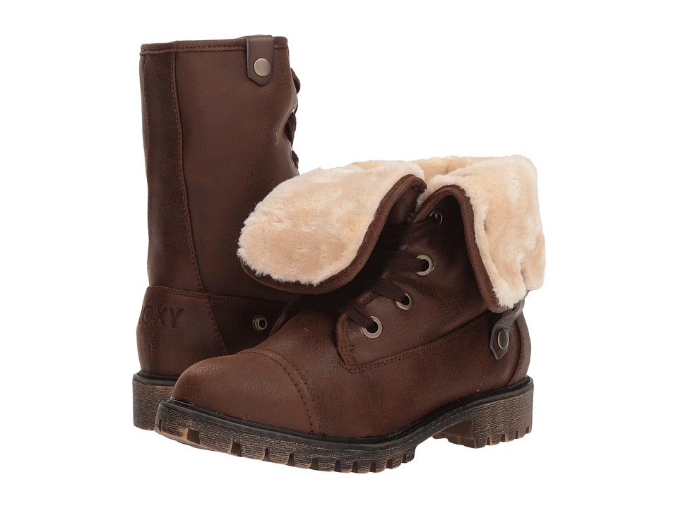 Roxy Bruna (Chocolate) Women's Lace-up Boots