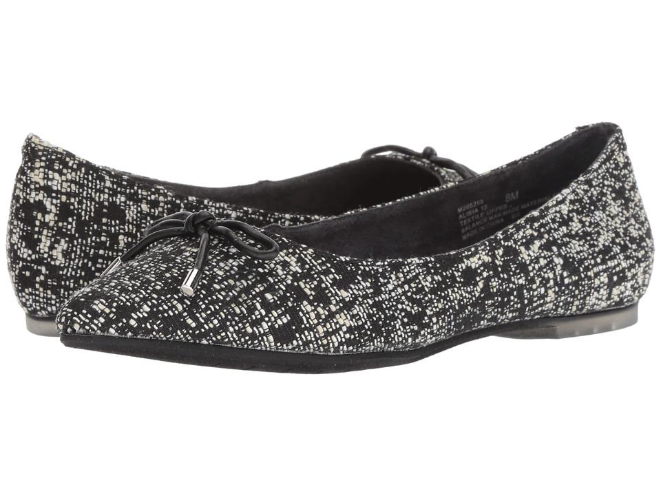 Me Too Alisia (Black/White Boucle) Women's Shoes
