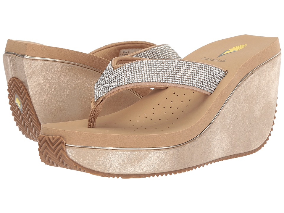 Volatile Erie (Natural) Women's Wedge Shoes