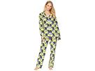 BedHead BedHead Lemon Long Sleeve Long Pajamas
