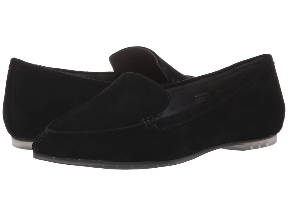 Me Too Audra (Black Kid Suede) Women's Shoes