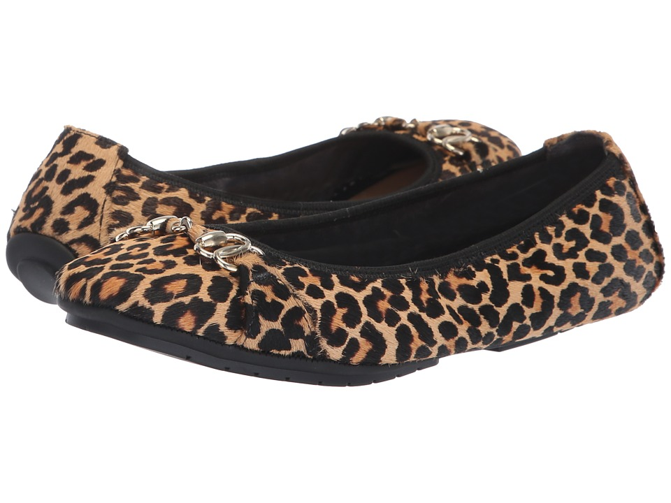 Me Too Olympia (Tan/Black Mini Jag Haircalf) Women's Shoes