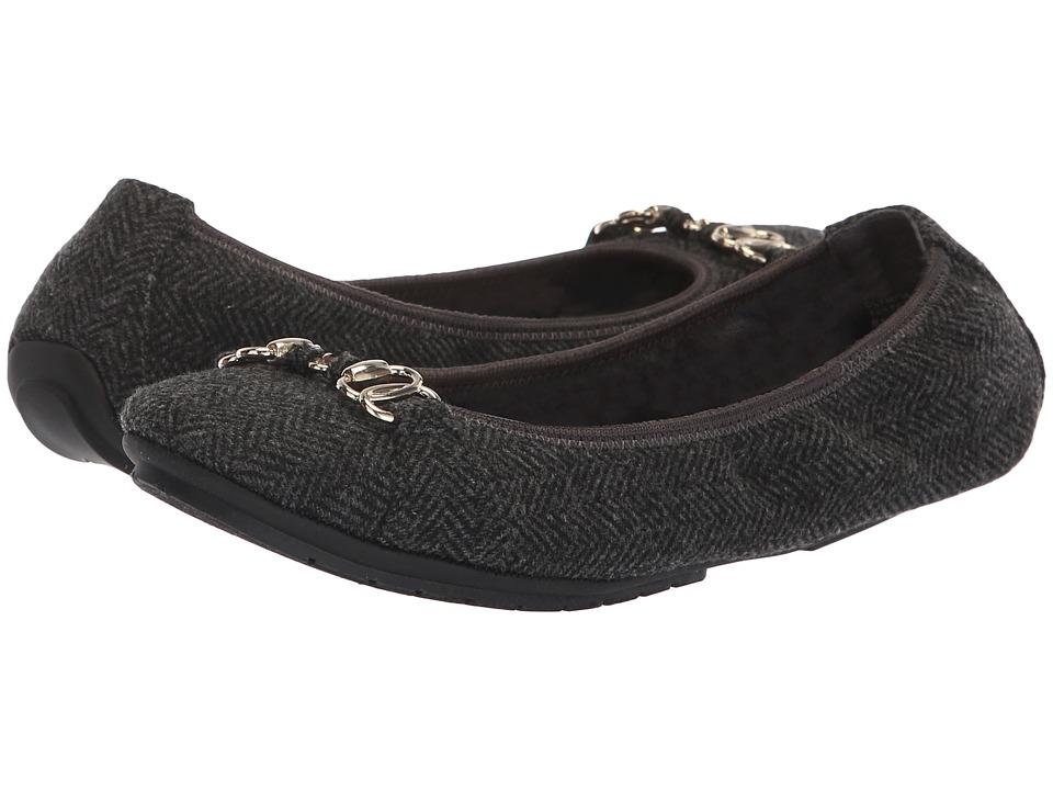 Me Too Olympia (Grey Herringbone) Women's Shoes
