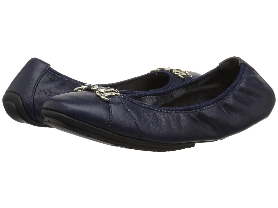 Me Too Olympia (Navy Kid Nappa) Women's Shoes
