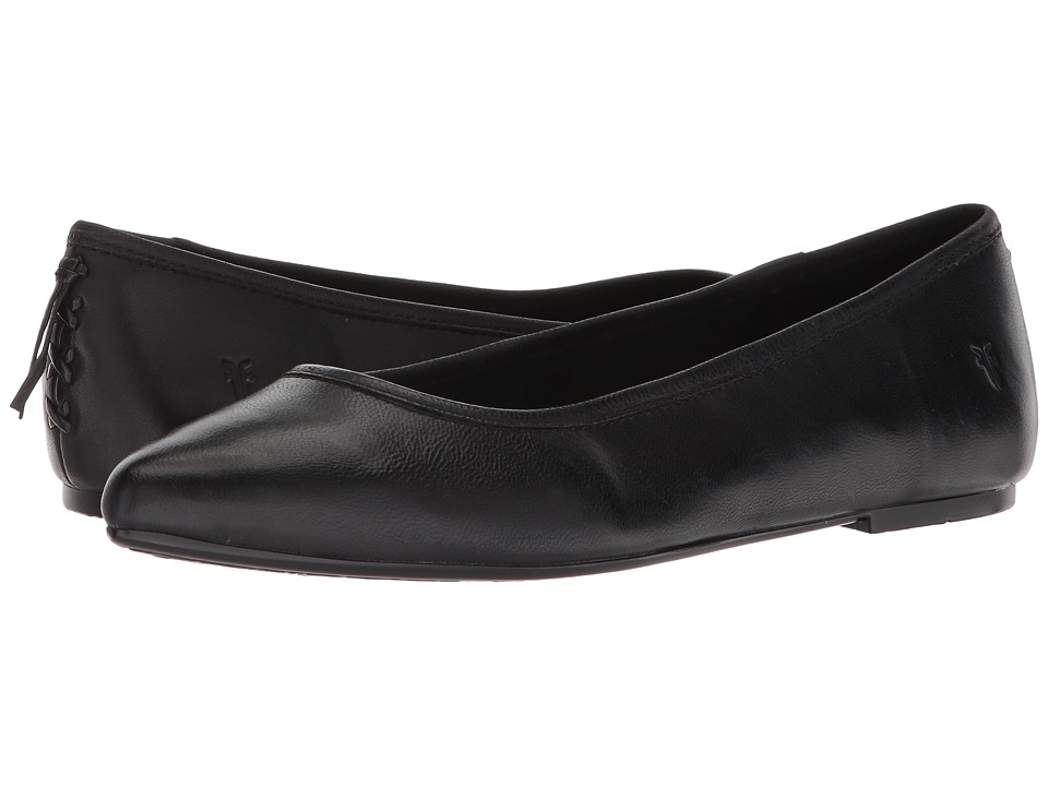 Frye Regina Ballet (Black) Slip-On Shoes