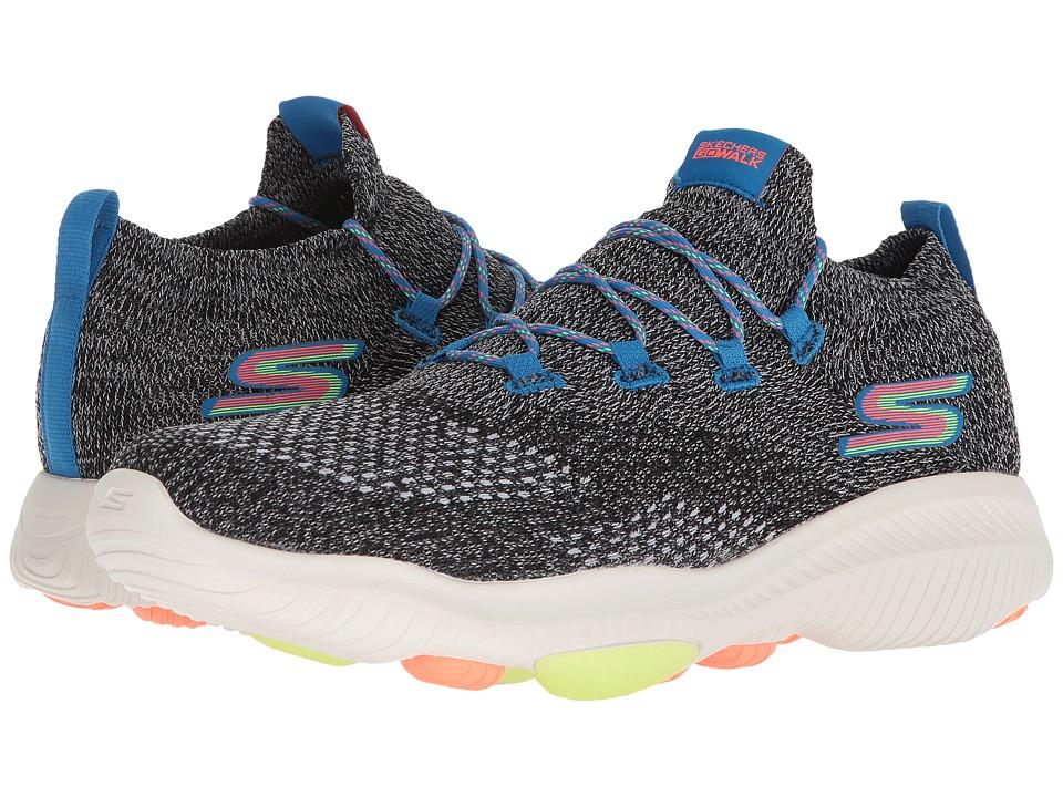 SKECHERS Performance - Go Walk Revolution Ultra (Black/Multi) Mens Shoes