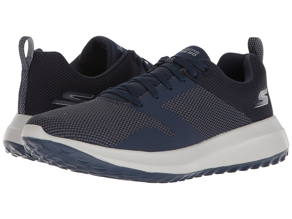 SKECHERS Performance - On-The-Go City 4.0 (Navy/Gray) Mens Shoes