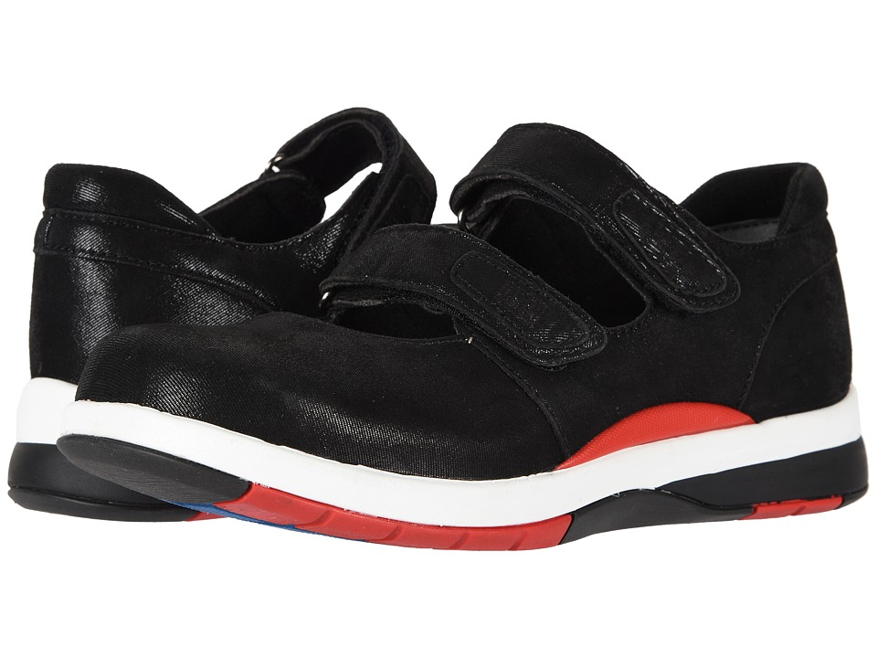 Drew Discovery (Black Microdot Leather) Women's Shoes