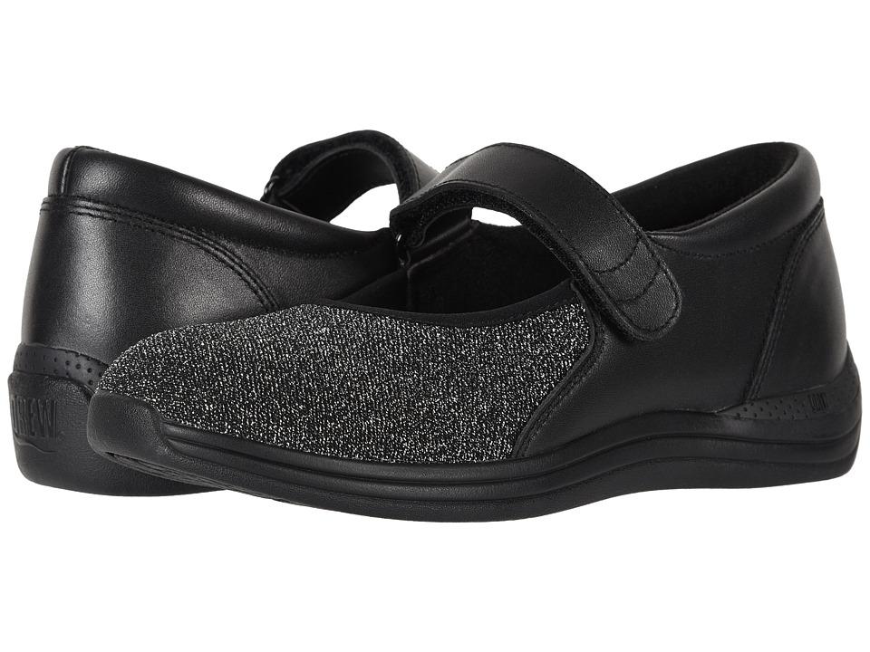 Drew Magnolia (Black Lurex Stretch) Women's Shoes