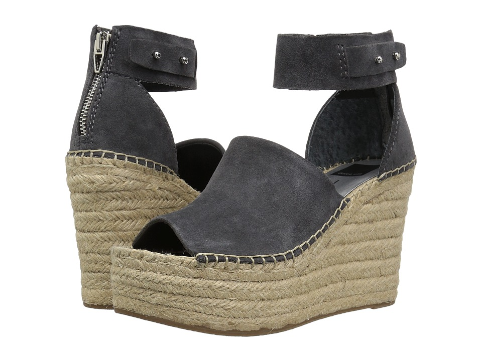 Dolce Vita - Straw (Anthracite Suede) Womens Shoes