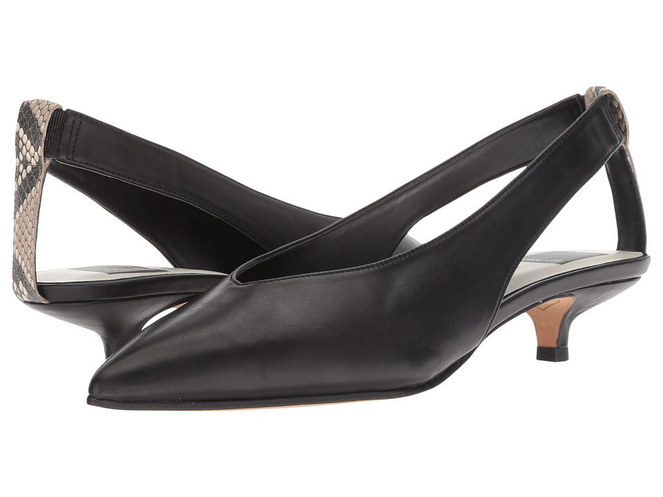 Dolce Vita Orly (Black Leather) Women's Shoes