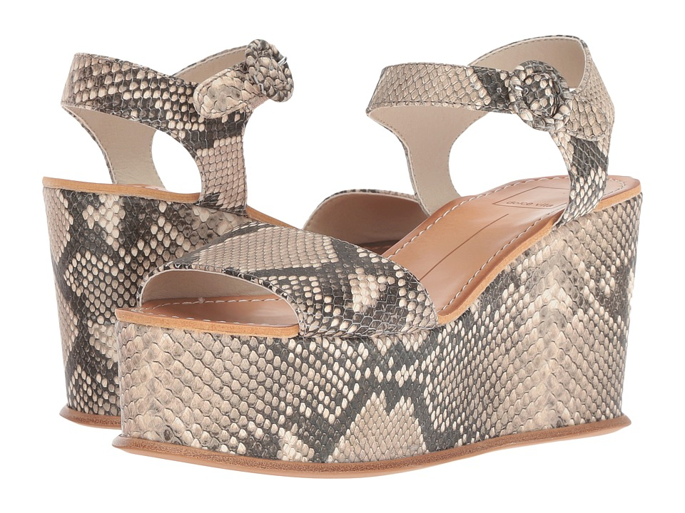 Dolce Vita Datiah (Snake Print Embossed Leather) Women's Shoes
