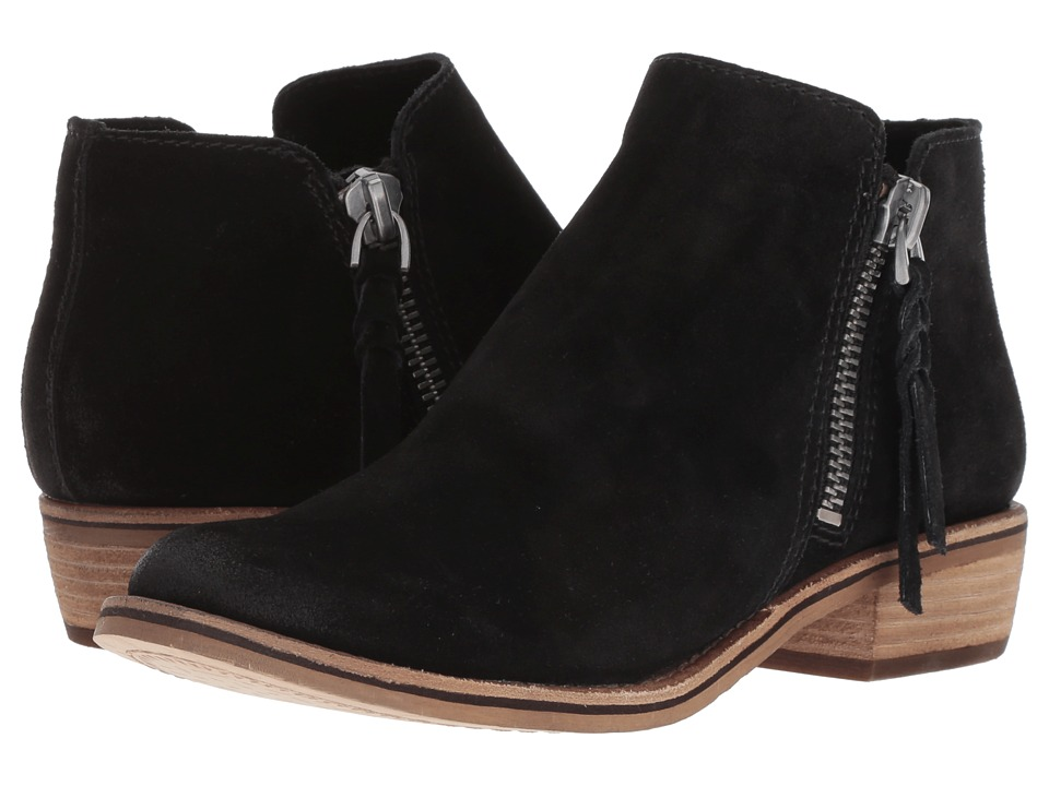 Dolce Vita Sutton (Black Suede) Women's Shoes