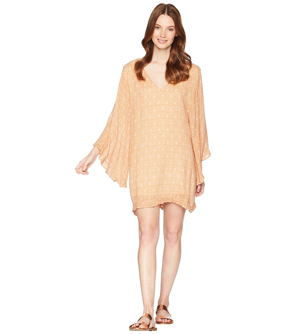 Amuse Society - Moon Goddess Dress (Honey) Womens Dress