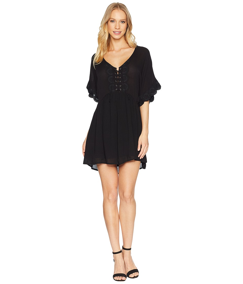 Amuse Society - Main Stage Dress (Black) Womens Dress
