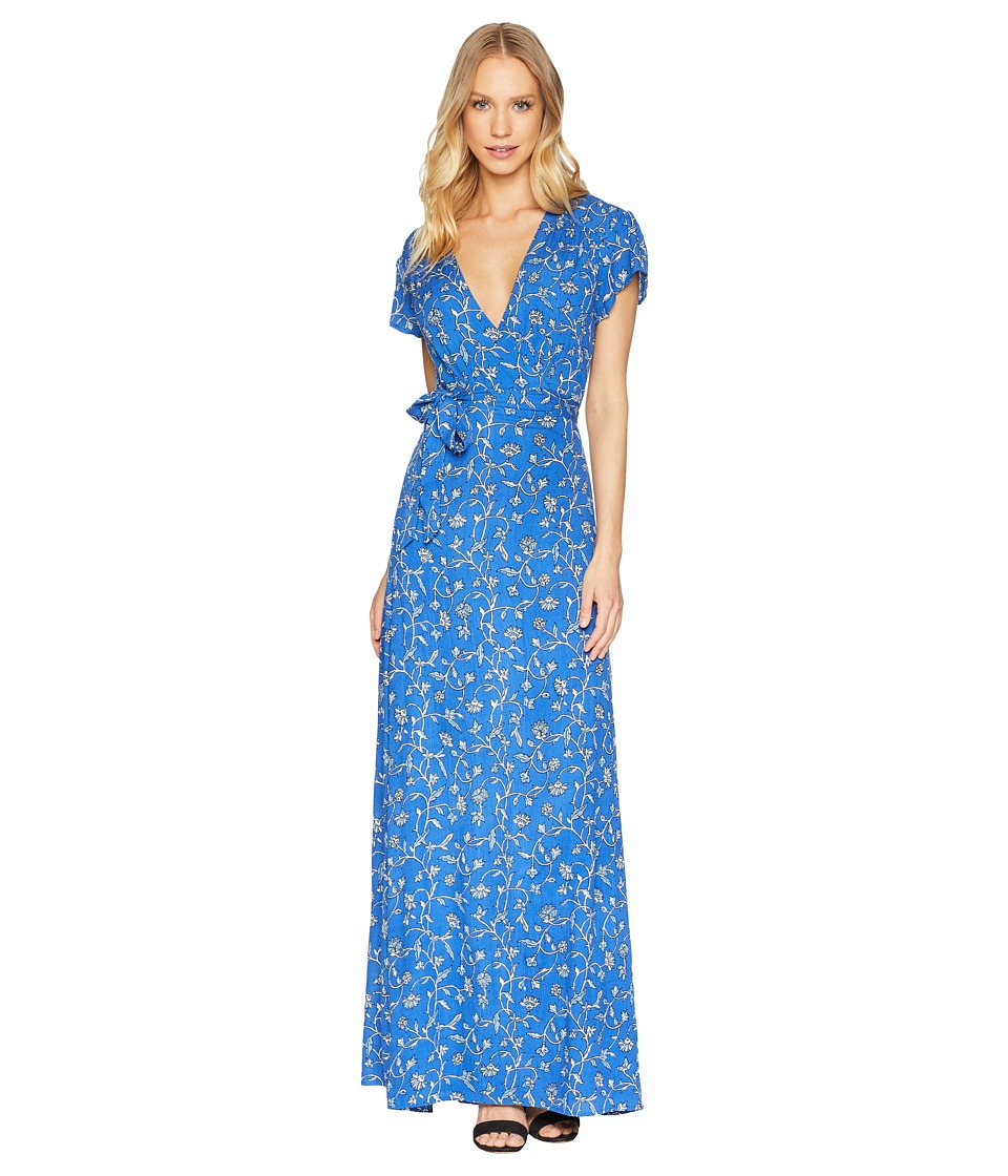 Amuse Society - Summer Safari Dress (Blue) Womens Dress