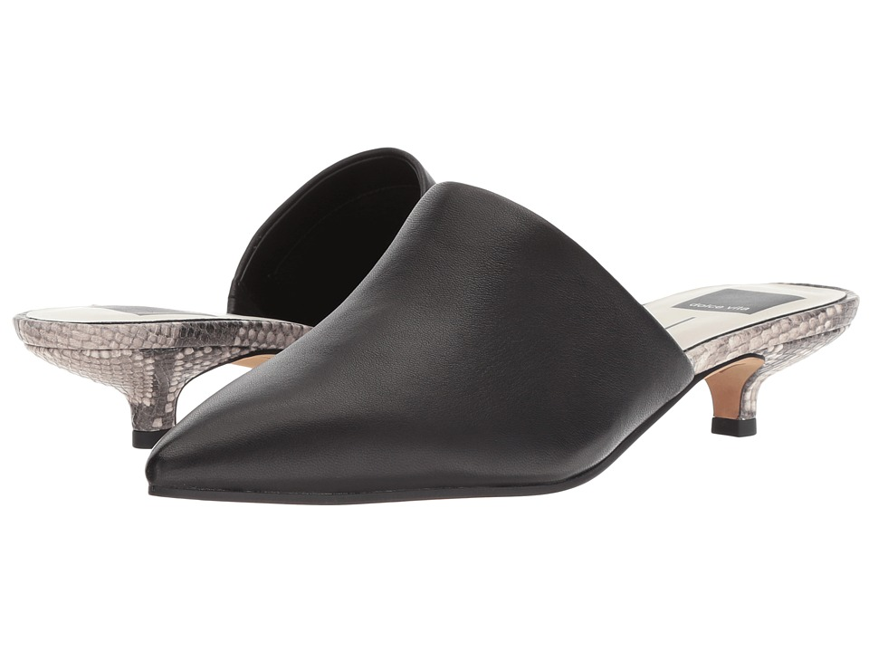 Dolce Vita Obie (Black Leather) Women's Shoes