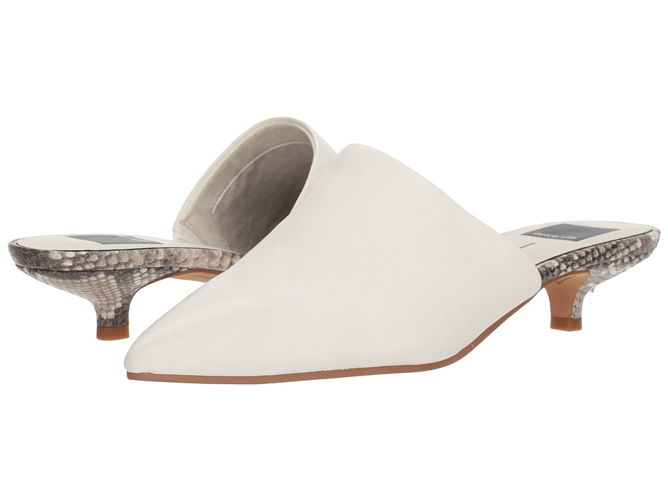 Dolce Vita Obie (Off-White Leather) Women's Shoes