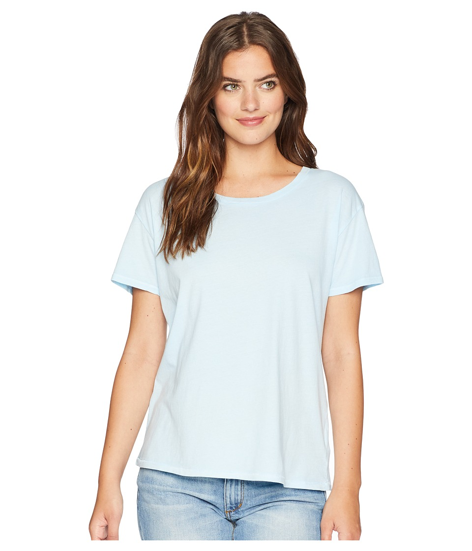 Amuse Society - Tanner Boyfriend Tee (Light Blue) Womens T Shirt