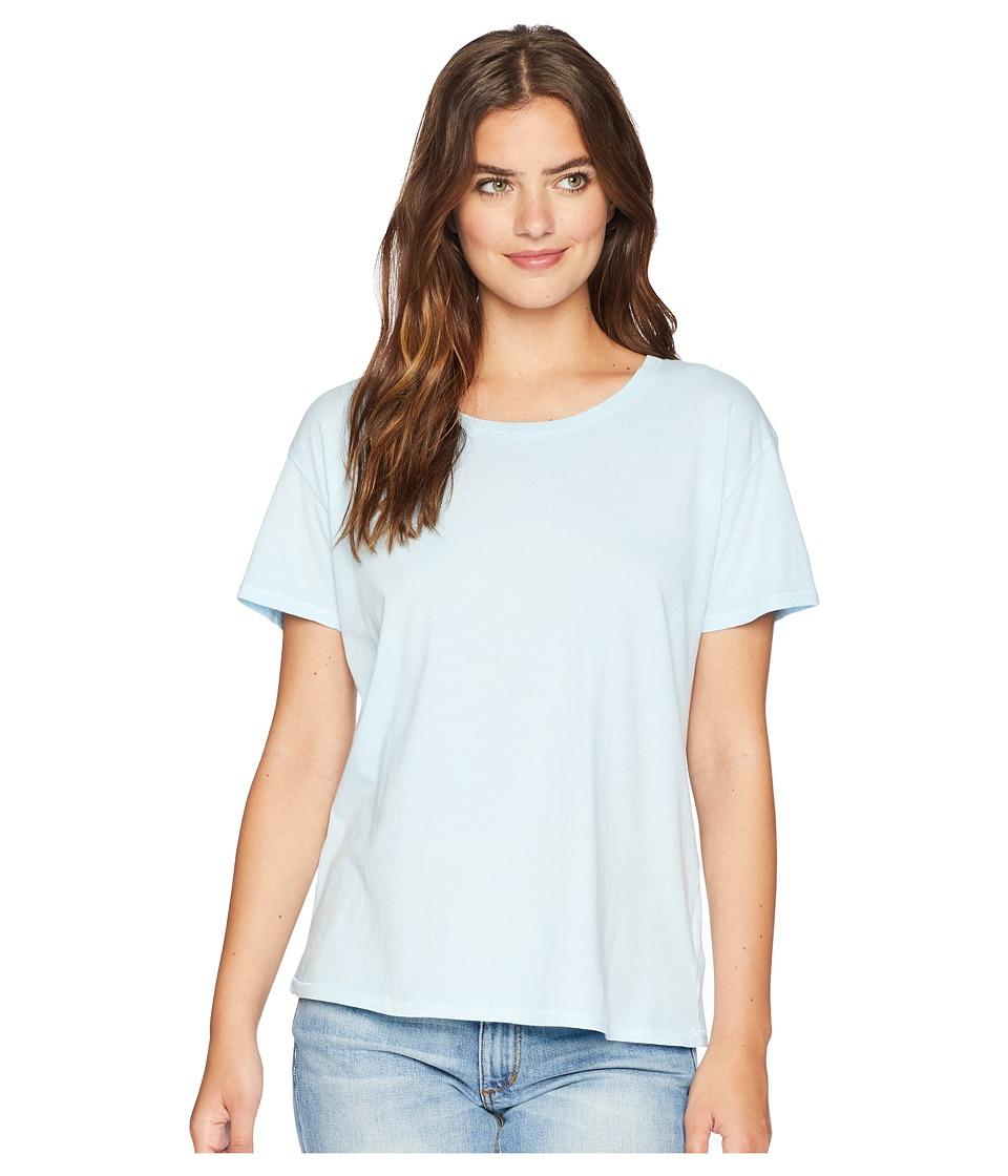 Amuse Society - Tanner Boyfriend Tee (Light Blue) Womens T Shirt