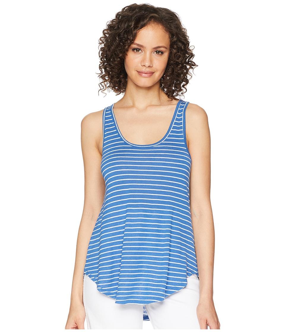 Amuse Society - La Plage Knit Top (Blue) Women's Clothing