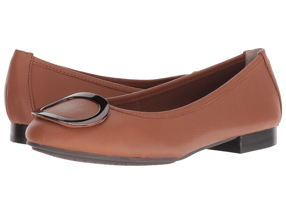 Me Too Sena (New Luggage/Bronze Goat Spore Leather) Women's Shoes