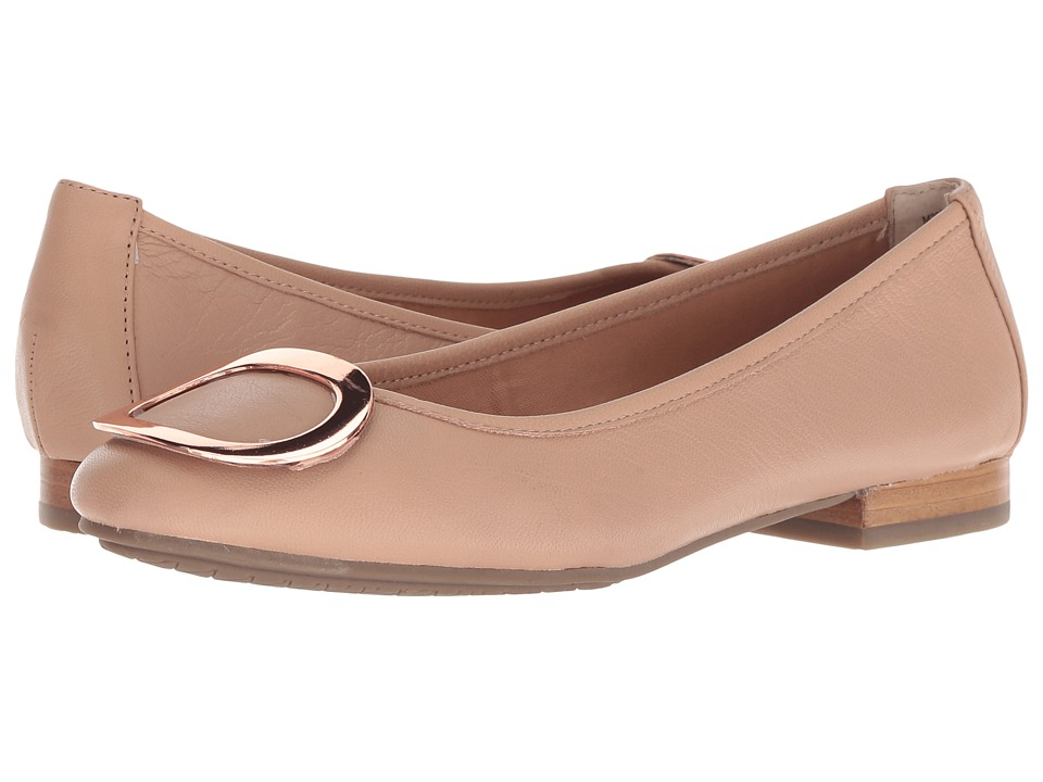 Me Too Sena (Nude/Rose Gold Goat Spore Leather) Women's Shoes