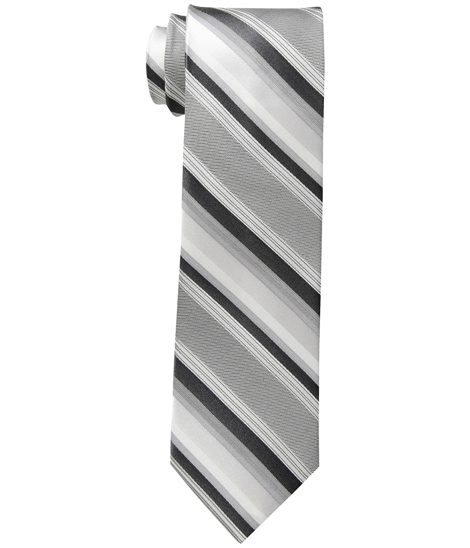 Calvin Klein - Carnivale Stripe (Black) Ties