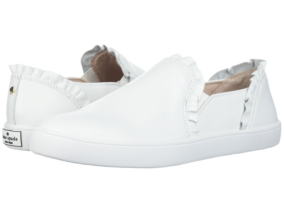 Kate Spade New York Lilly (White Nappa) Women's Shoes