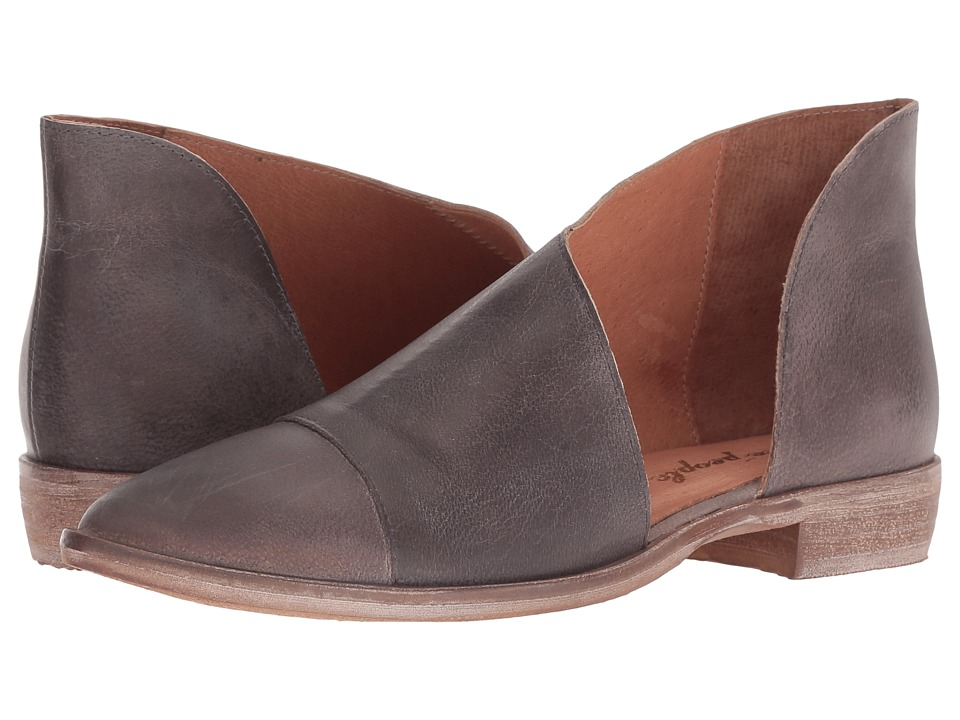 Free People Royale Flat (Dark Grey) Flats