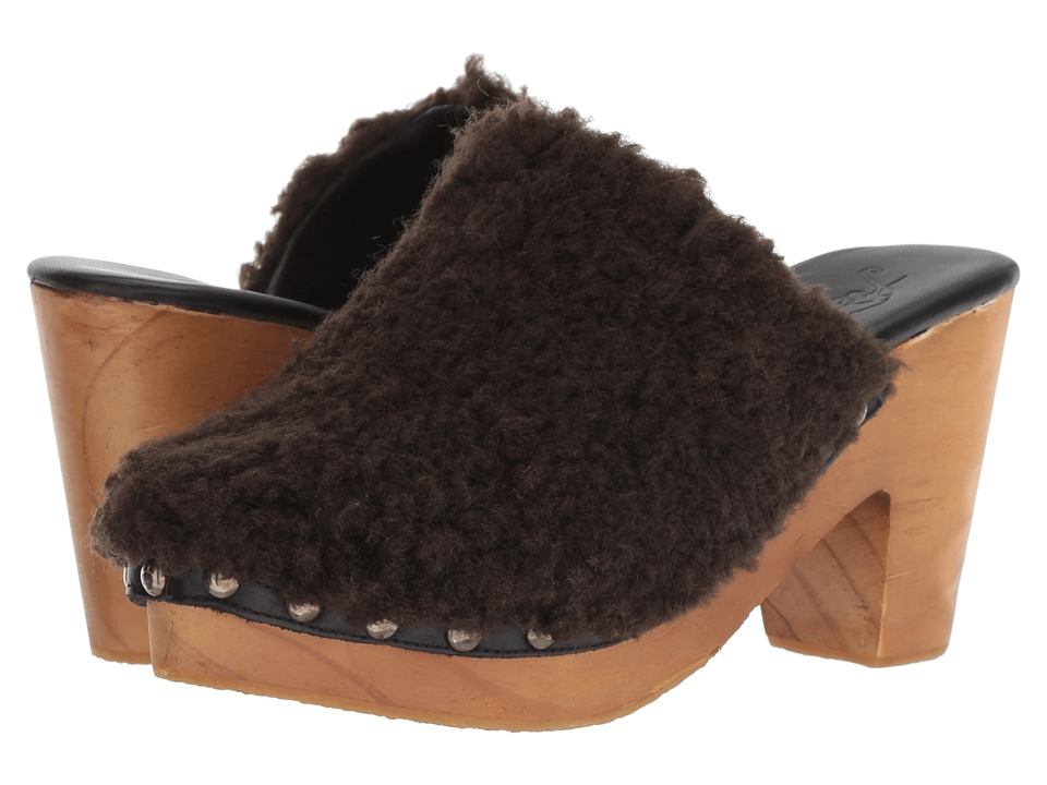 Free People Cabin Fever Clog (Black) Women's Shoes