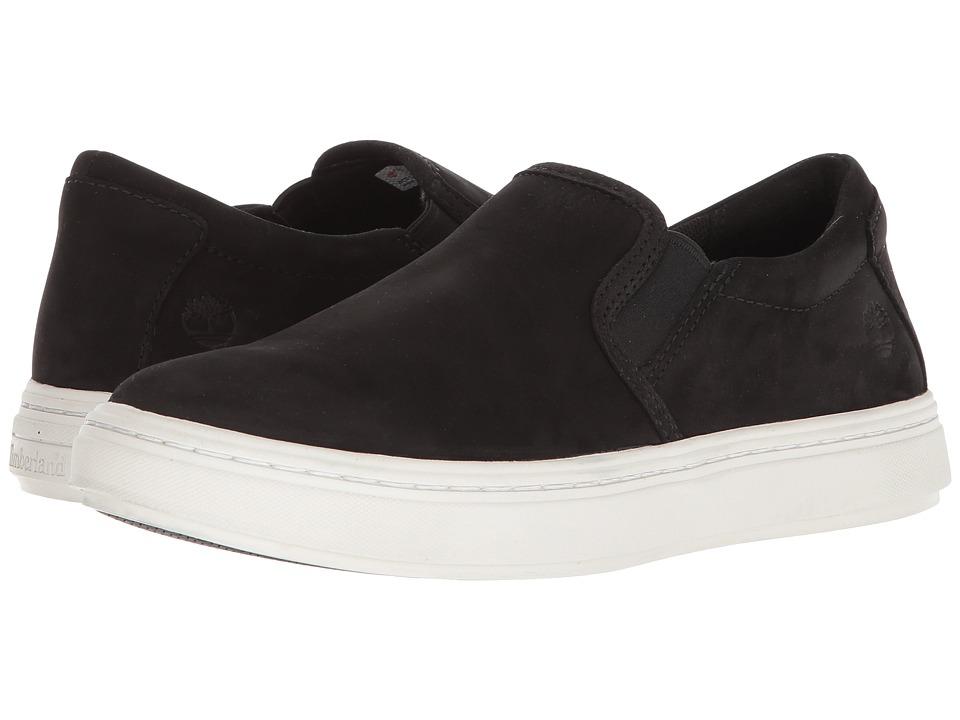 Timberland - Londyn Slip-On (Black Nubuck) Womens Slip on  Shoes