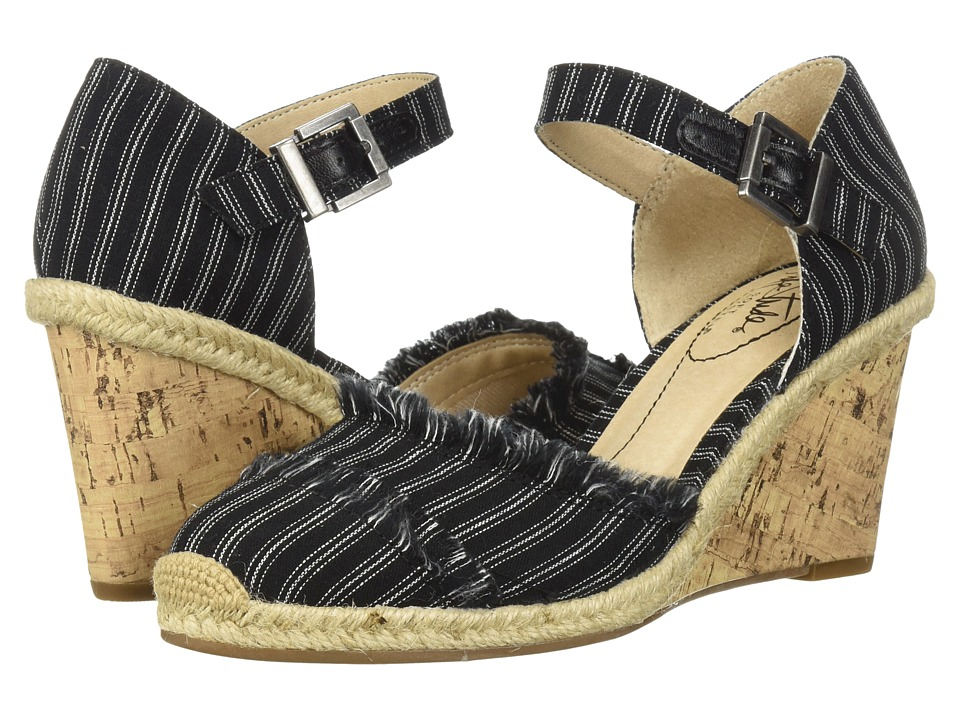 LifeStride Leena (Black/White) Wedges