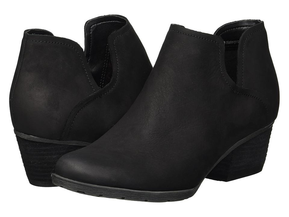Blondo Victoria Waterproof (Black Nubuck) Women's Shoes