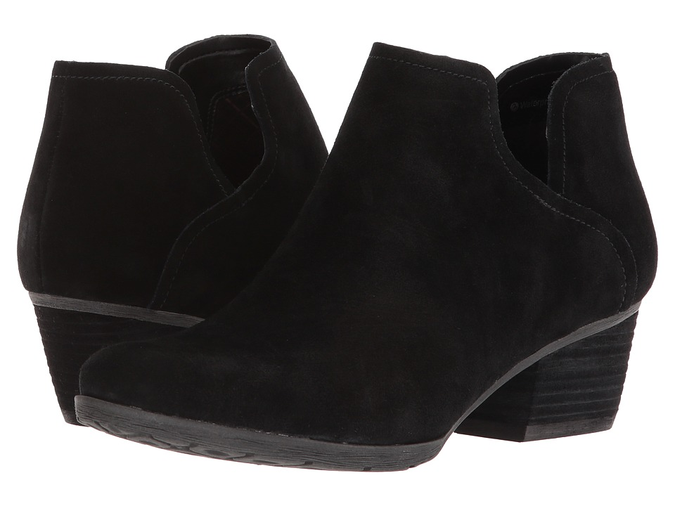 Blondo Victoria Waterproof (Black Suede) Women's Shoes