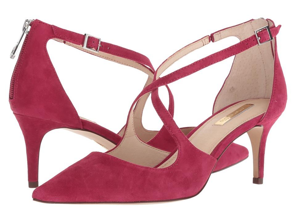Louise et Cie Jena (Boysenberry Kid Suede) Women's Shoes