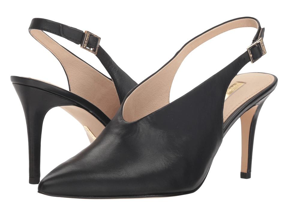Louise et Cie Jilliana (Black Sofia Calf) High Heels