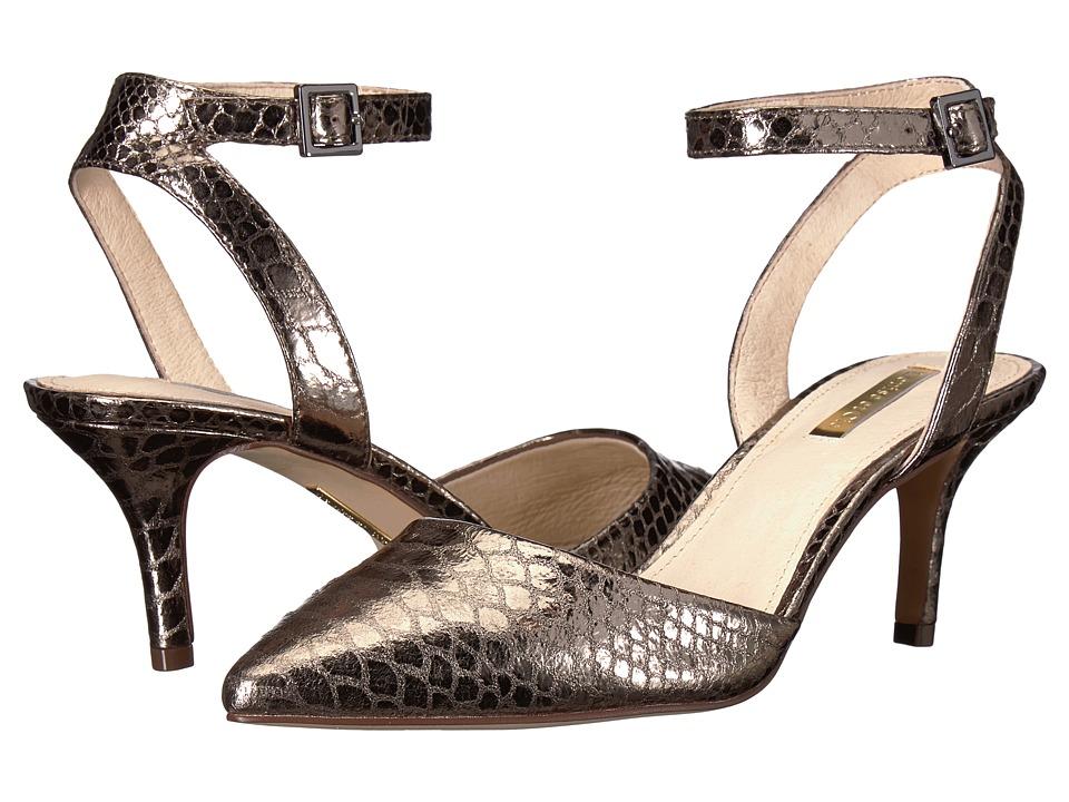 Louise et Cie Esperance (Gunmetal Mirror Whips) Women's Shoes