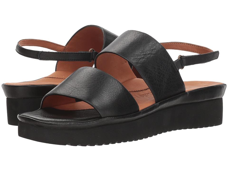 L'Amour Des Pieds Abruzzo (Black) Sandals