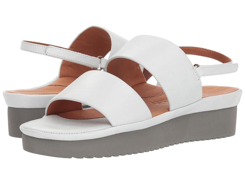 L'Amour Des Pieds Abruzzo (White) Sandals