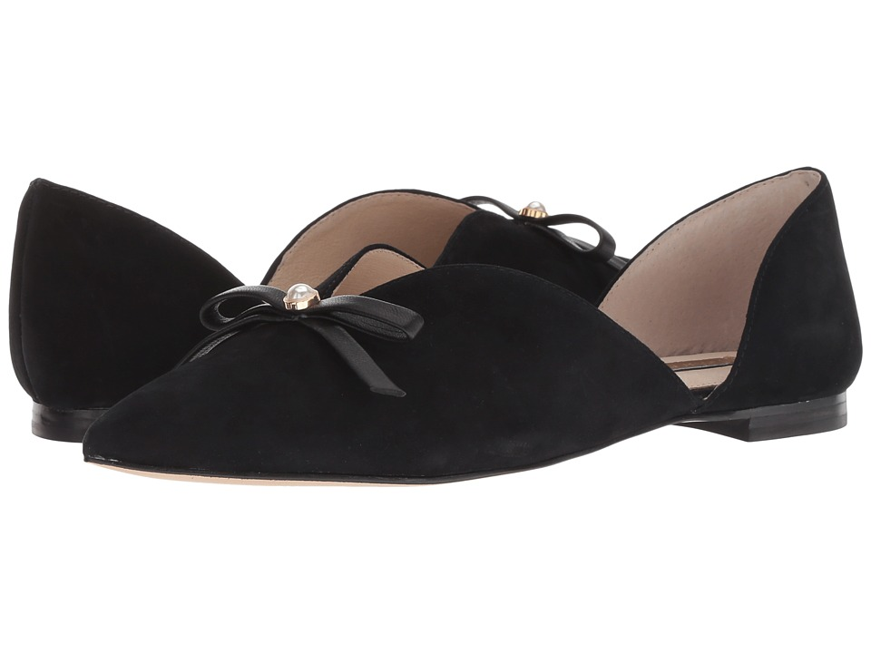 Louise et Cie Cly (Black Eco Kid Suede/Eco Sheep) Flats
