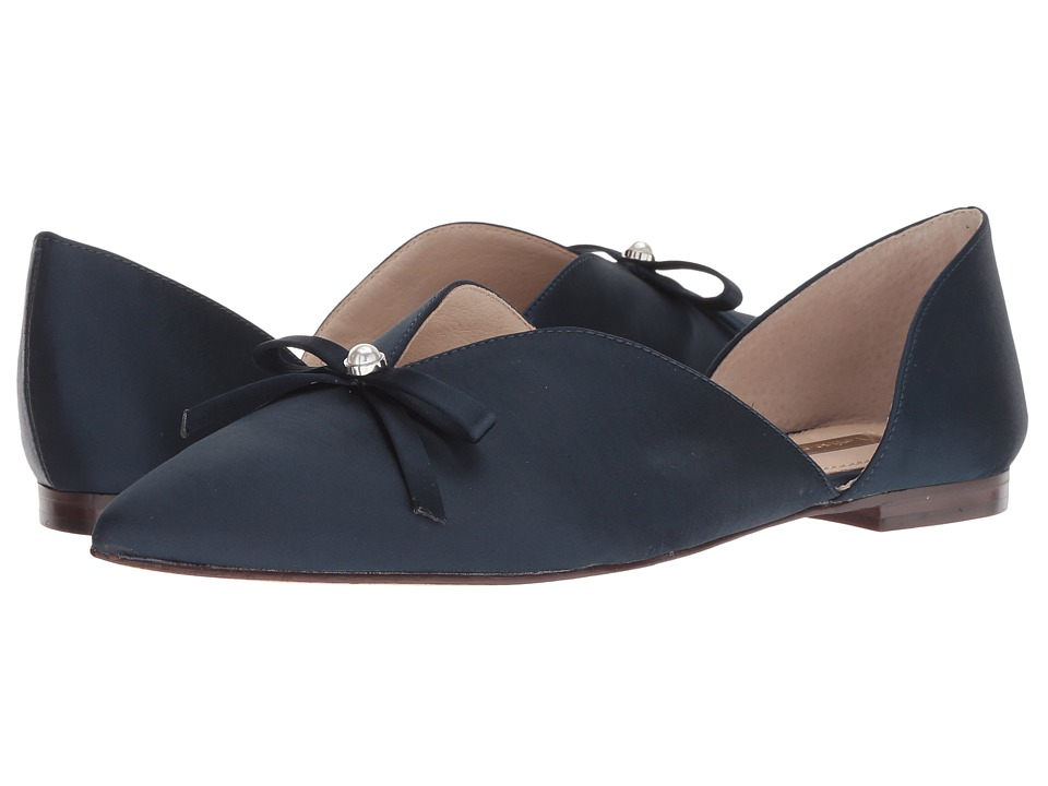 Louise et Cie Cly (Night Shade Satin Luxe) Flats