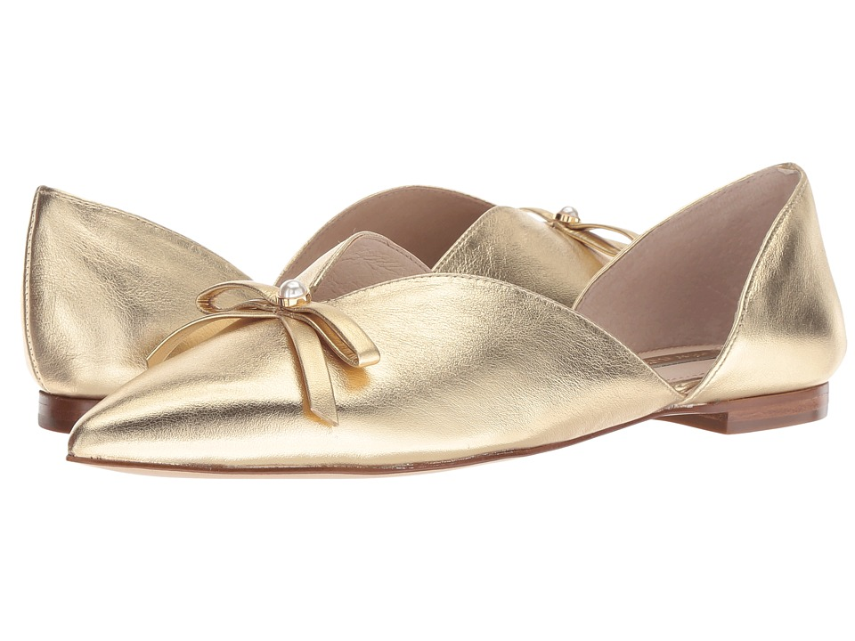 Louise et Cie Cly (Lumiere Gold Berlin Metallic/Metallic Eco Sheep) Flats