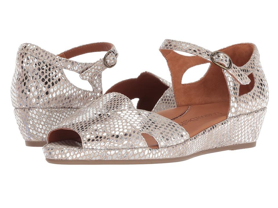 L'Amour Des Pieds Betterton (Gold/Silver Synthetic) Sandals
