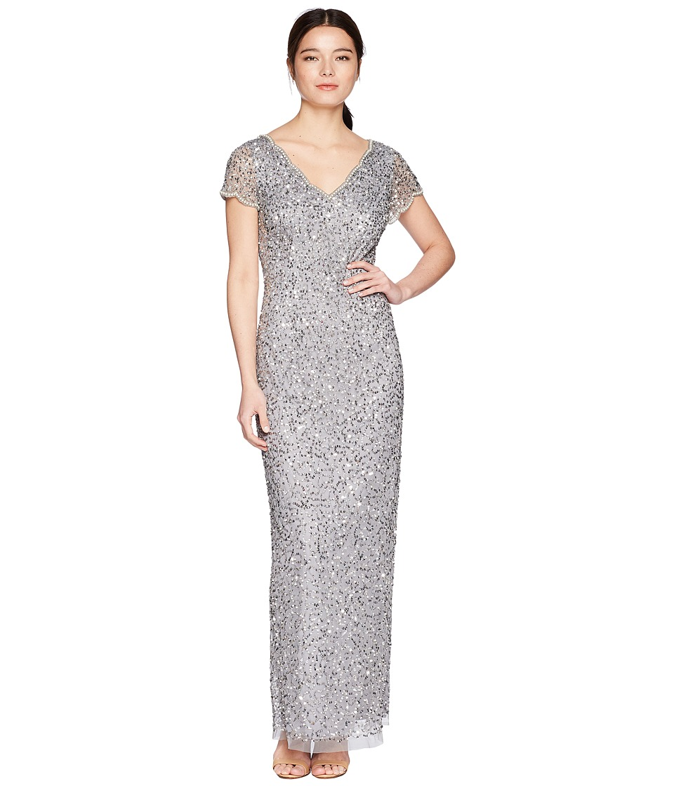 Petite evening gowns with sleeves | Women\'s Dresses & Skirts ...