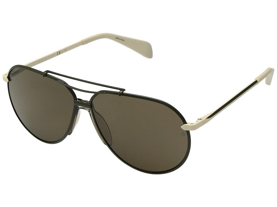 rag & bone - RNB5008/S (Sage Ivory/Bronze Polarized) Fashion Sunglasses