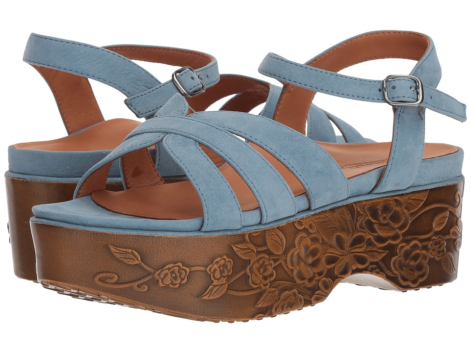 LAmour Des Pieds - Gillon (Light Indigo Nubuck) Womens Sandals
