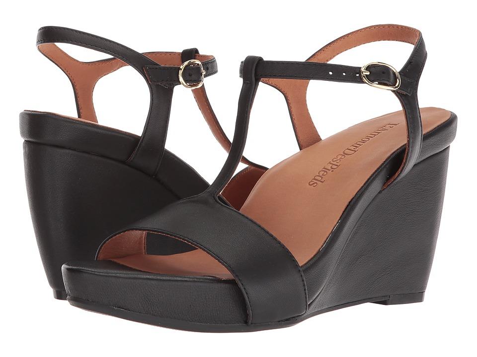LAmour Des Pieds - Idelle (Black Nappa) Womens Sandals